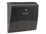 Yale Locks YAL500155 - Delaware Postbox Black