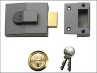 Yale Locks YAL82DMGPB - 82 Deadbolt Nightlatch 60mm Backset DMG Finish Box