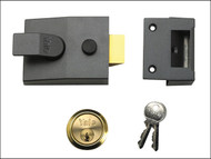 Yale Locks YAL89DMGPB - 89 Deadlock Nightlatch 60mm Backset DMG Finish Box