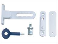 Yale Locks YALP117WE - P117 Ventilation Window Lock White Finish Pack of 1