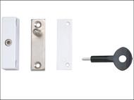 Yale Locks YALP118WE - P118 Auto Window Lock White Finish Pack of 1