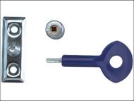 Yale Locks YALP2P111SC - P111 Window Staylocks Satin Chrome Finish Pack of 2