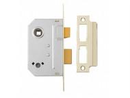 Yale Locks YALPM236CH25 - PM236 Bathroom 2 Lever Sashlock Polished Chrome 67mm 2.5in
