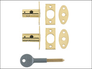 Yale Locks YALV80012PL - 8001 Security Bolts Brass Finish Pack of 2 Visi