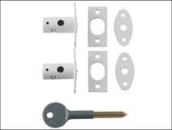 Yale Locks YALV80012WE - 8001 Security Bolts White Finish Pack of 2 Visi