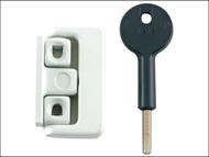 Yale Locks YALV8K1014EB - 8K101 Window Latches Electro Brass Finish Multi Pack of 4 Visi
