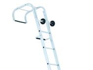 Zarges ZAR100621 - Industrial Roof Ladder 2-Part 1 x 9 & 1 x 10 Rungs 5.95m