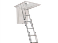 Zarges ZAR101400 - Aluminium 3 Part Loft Ladder