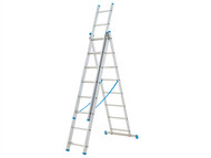 Zarges ZAR143108 - Combination Ladder 3-Part 3 x 8 Rungs