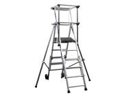 Zarges ZAR2272251 - Sherpascopic Height Adjust Podium Platform Height 1.06 - 1.53m 4 - 6 Rungs
