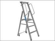 Zarges ZAR341632 - Mobile Mastersteps Platform Height 0.78m 3 Rungs