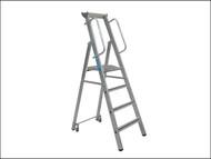 Zarges ZAR341633 - Mobile Mastersteps Platform Height 1.06m 4 Rungs