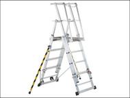 Zarges ZAR41327 - ZAP 2 Access Platform Platform Height 1.3/1.6/1.8/2.1/2.4m 5-9 Rungs