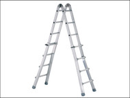 Zarges ZAR41930 - Industrial Telescopic Combination Ladder 4 x 4 Rungs