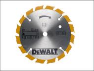 DEWALT DEWDT1200QZ - Trim Saw Blade 136 x 10mm x 16T Fast Rip