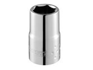 Britool Expert BRIE117296B - Hexagon Socket 6 Point Regular 1/4in Drive 6mm