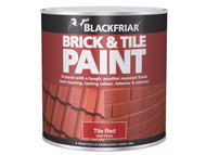 Blackfriar BKFBTMR250 - Brick & Tile Paint Matt Red 250ml
