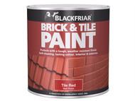 Blackfriar BKFBTMR500 - Brick & Tile Paint Matt Red 500ml
