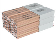 C H Hanson CHH10378 - Hard Lead Carpenters Pencils (Box 72)