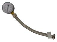 Dickie Dyer DDY11091 - Water Pressure Gauge 0-10 Bar 3/4in BSP