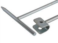 Dickie Dyer DDY15014 - Crutch Head Stopcock Key 875mm (34in)
