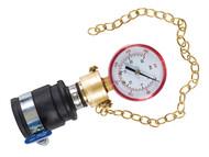 Dickie Dyer DDY90087 - Water Pressure Gauge 0-25 Bar
