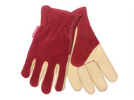 Kent & Stowe K/S70100120 - Ladies Gloves Raspberry / Tan