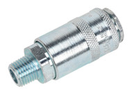 """Sealey ACP01 Coupling Body Male 1/4""""BSPT Pack of 5"""