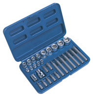 Sealey AK619 TRX-Star Socket & Bit Set 30pc