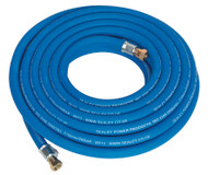 "Sealey AH10R/38 Air Hose 10mtr x ¯10mm with 1/4""BSP Unions Extra Heavy-Duty"