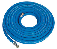 "Sealey AH15R/38 Air Hose 15mtr x ¯10mm with 1/4""BSP Unions Extra Heavy-Duty"
