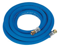 "Sealey AH5R/38 Air Hose 5mtr x ¯10mm with 1/4""BSP Unions Extra Heavy-Duty"