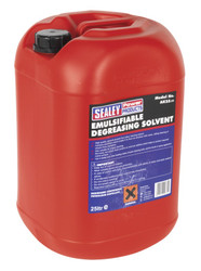 Sealey AK25 Degreasing Solvent Emulsifiable 25ltr