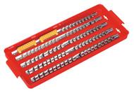 """Sealey AK272 Socket Rail Tray 1/4"""", 3/8"""" & 1/2""""Sq Drive"""