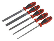Sealey AK573 EngineerÕs File Set 5pc 200mm