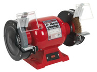 Sealey BG150XLW/98 Bench Grinder ¯150mm with Wire Wheel 370W/230V