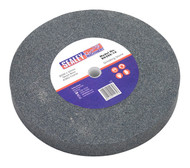 Sealey BG200/16 Grinding Stone ¯200 x 25mm 16mm Bore A36Q Coarse
