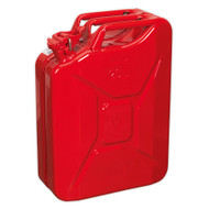 Sealey JC20 Jerry Can 20ltr - Red