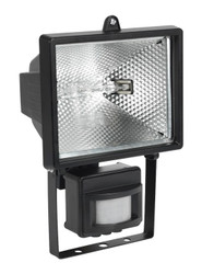 Sealey MD520C Floodlight with Wall Bracket & PIR Sensor 400W/230V Tungsten/Halogen C-Class