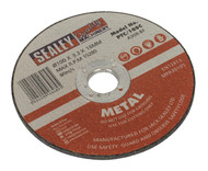 Sealey PTC/100C Cutting Disc ¯100 x 3mm 16mm Bore