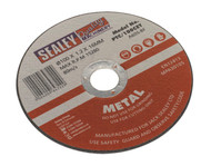 Sealey PTC/100CET Cutting Disc ¯100 x 1.2mm 16mm Bore