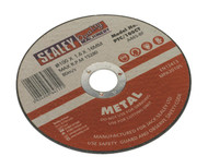 Sealey PTC/100CT Cutting Disc ¯100 x 1.6mm 16mm Bore