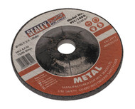 Sealey PTC/100G Grinding Disc ¯100 x 6mm 16mm Bore