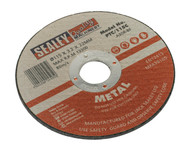 Sealey PTC/115C Cutting Disc ¯115 x 3mm 22mm Bore