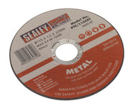 Sealey PTC/115CET Cutting Disc ¯115 x 1.2mm 22mm Bore