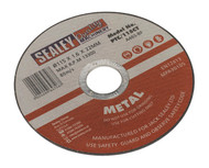Sealey PTC/115CT Cutting Disc ¯115 x 1.6mm 22mm Bore