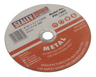 Sealey PTC/180C Cutting Disc ¯180 x 3mm 22mm Bore