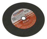 Sealey PTC/300C Cutting Disc ¯305 x 2.8mm 25.4mm Bore