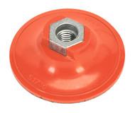 Sealey PTCBPV4 Hook & Loop Backing Pad ¯75mm M14 x 2mm