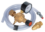 Sealey REG/KIT/MO MIG Gas Regulator Kit 1 Gauge Regulator Industrial